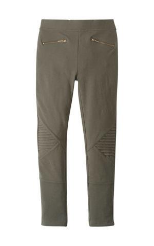 Strečové nohavice so zipsami bonprix