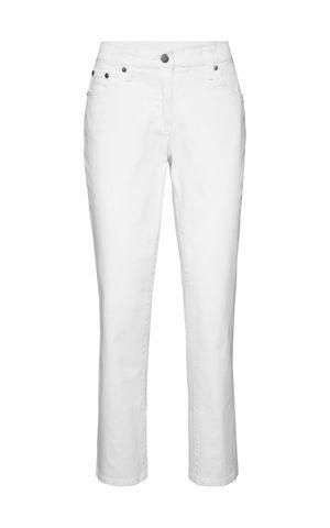 """Strečové nohavice zo štruktúrovaného twillu, """"rovné"""" bonprix"""
