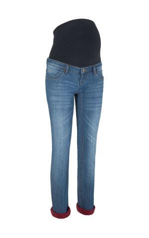 Tehotenské termo džínsy bonprix