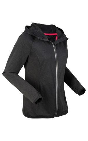 Termo bežecká bunda, dlhý rukáv bonprix