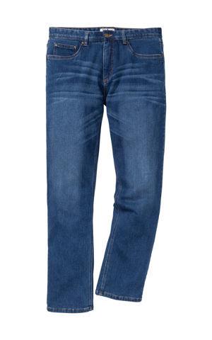Termo teplákové džínsy Regular Fit, Fit Straight bonprix