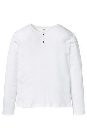 Tričko, dlhý rukáv, vrúbkované bonprix