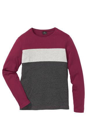 Tričko s dlhým rukávom Regular Fit bonprix