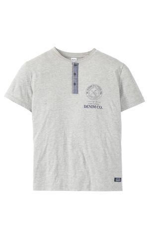 Tričko s gombíkovou légou Regular Fit bonprix