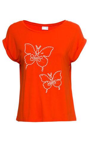 Tričko s motýlikmi bonprix