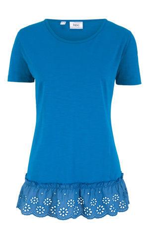 Tričko s ozdobnou výšivkou bonprix