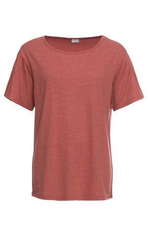 Tričko s podielom plátna bonprix
