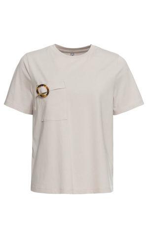 Tričko s vreckom bonprix