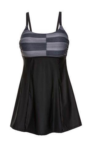 Tvarujúce plavkové šaty bonprix