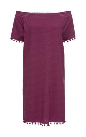 Úpletové šaty, krátky rukáv bonprix