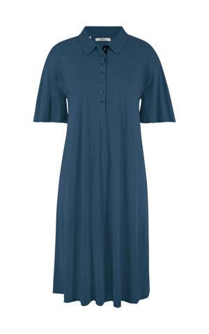 Úpletové šaty s golierom bonprix