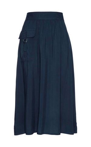 Viskózová sukňa bonprix