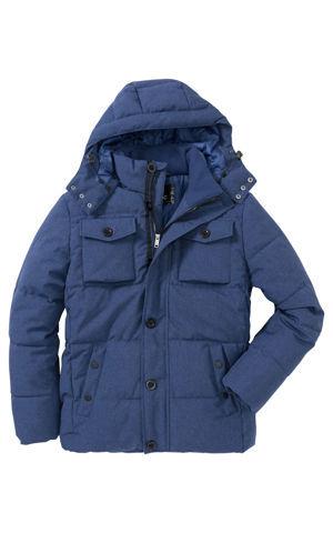 Zimná prešívaná bunda s kapucňou Regular Fit bonprix